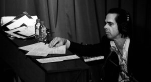 Nick Cave by Sonic PR, Great Britain